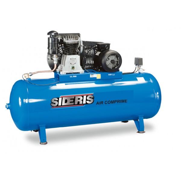 Compresseur 500 litres 7 5cv 400v sideris outillage - Compresseur 500 litres ...