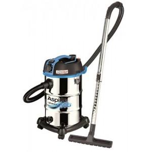Aspirateur eau & poussiere 30 litres inox avec prise machine – ASPIRIX 30