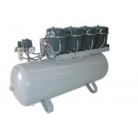 Compresseur SONAIR 100L 230V 1360W 4 moteurs