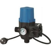 Régulateur de pression AQUACONTROL+ avec manomètre et prise de courant