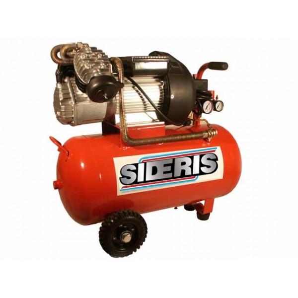 Compresseur 50 litres 3cv coaxial en v sideris outillage - Compresseur 50 litres ...
